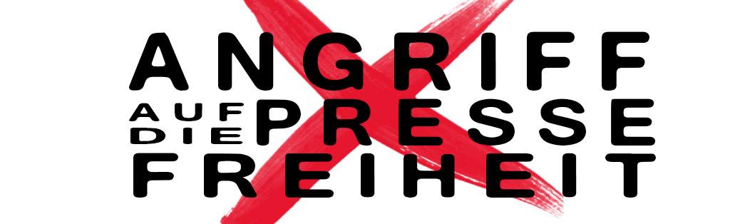 ANGRIFF AUF DIE PRESSEFREIHEIT - be-him CC BY NC ND